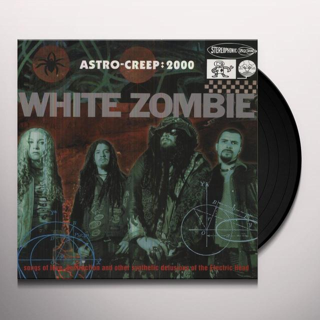 White Zombie ASTRO-CREEP: 2000 Vinyl Record - Holland Import