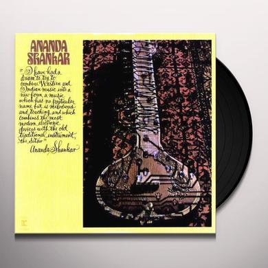 ANANDA SHANKAR Vinyl Record - 180 Gram Pressing