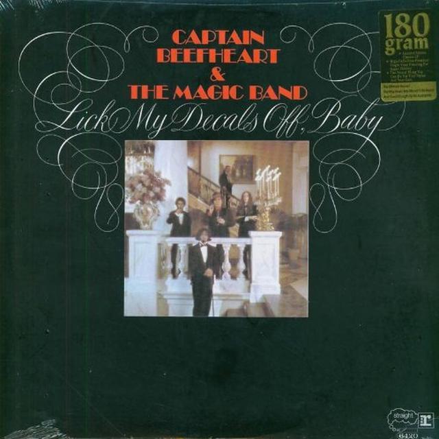 Captain Beefheart LICK MY DECALS OFF BABY Vinyl Record - 180 Gram Pressing