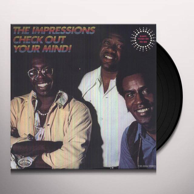 The Impressions CHECK OUT YOUR MIND Vinyl Record
