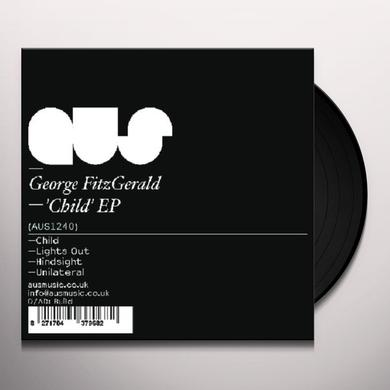George Fitzgerald CHILD (EP) Vinyl Record