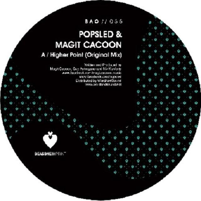 Popsled & Magit Cacoon HIGHER POINT (EP) Vinyl Record
