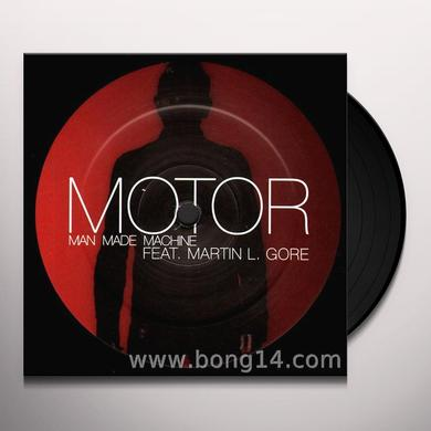 Motor MAN MADE MACHINE (EP) Vinyl Record - Limited Edition