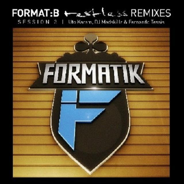 FORMAT:B - RESTLESS: REMIXES SESSION 3 (EP) Vinyl Record