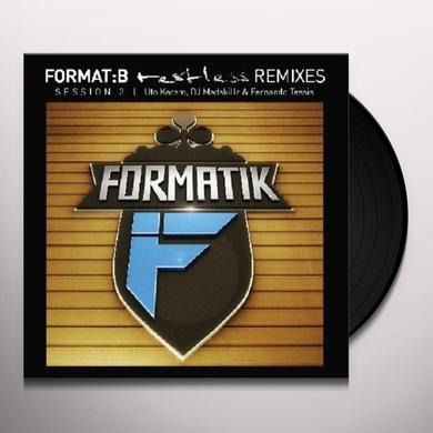 FORMAT:B - RESTLESS: REMIXES SESSION 3 (EP) Vinyl Record