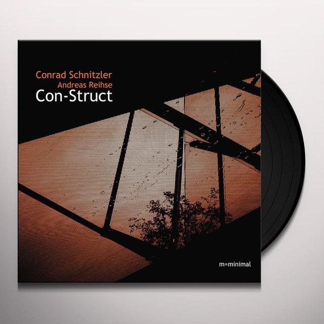 Conrad Schnitzler / Andreas Reihse CON-STRUCT Vinyl Record