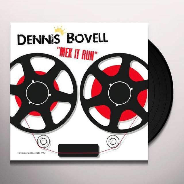 Dennis Bovell MEK IT RUN Vinyl Record