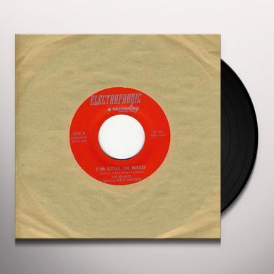 The Bo-Keys WRITING ON THE WALL / I'M STILL IN NEED Vinyl Record