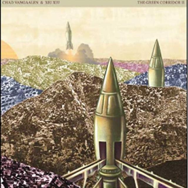 Chad Vangaalen & Xiu Xiu GREEN CORRIDOR 2: SPLIT 12 Vinyl Record