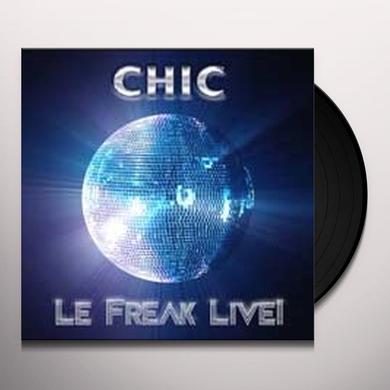 Chic FREAK LIVE Vinyl Record