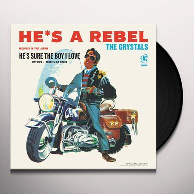 The Crystals HE'S A REBEL Vinyl Record