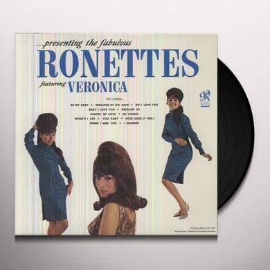 PRESENTING THE FABULOUS RONETTES Vinyl Record