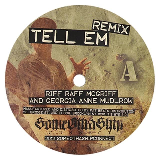Riff Raff TELL EM REMIX Vinyl Record