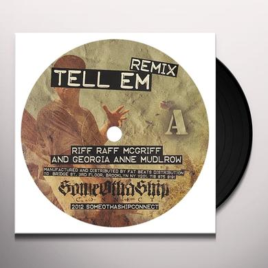 Riff Raff TELL EM REMIX Vinyl Record