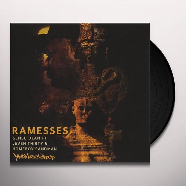Gensu Dean RAMESSES / WANTCHU Vinyl Record