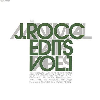 J-Rocc MINIMAL WAVE EDITS 1 Vinyl Record