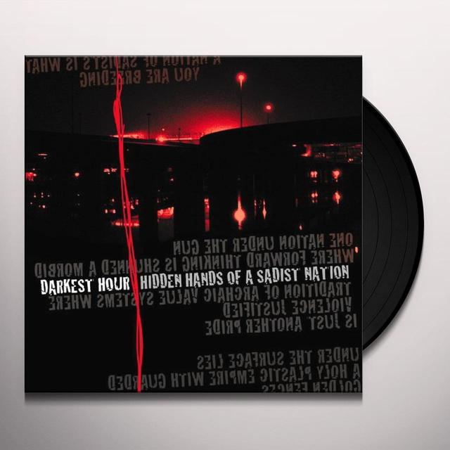 Darkest Hour HIDDEN HANDS OF A SADIST NATION Vinyl Record