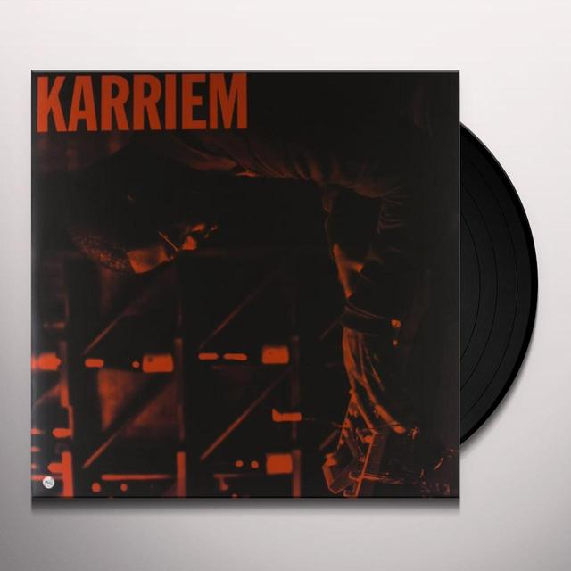 Karriem Riggins ALONE Vinyl Record - Digital Download Included