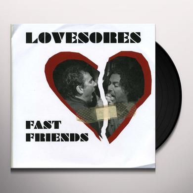 Lovesores FAST FRIENDS / RED ALERT Vinyl Record