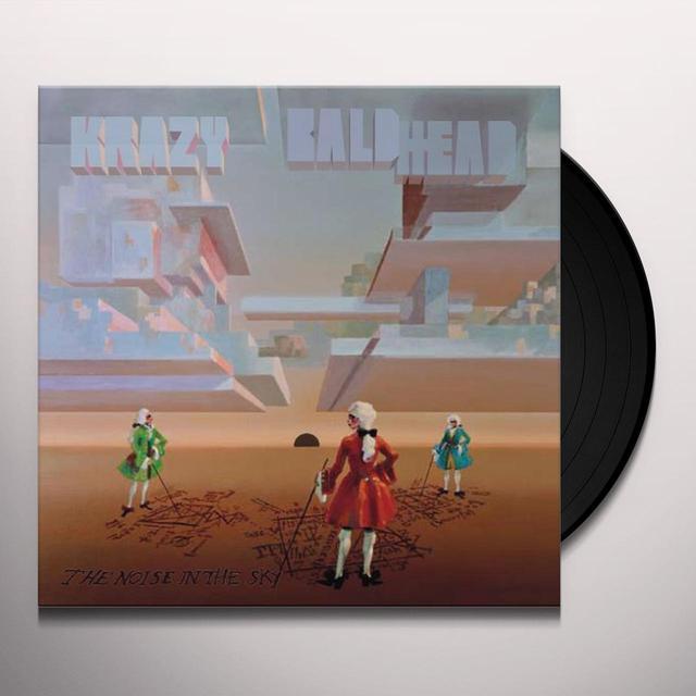 Krazy Baldhead NOISE IN THE SKY Vinyl Record - w/CD