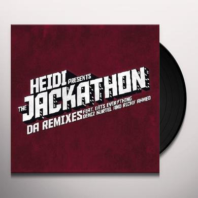 Heidi JACKATHON: DA REMIXES (EP) Vinyl Record