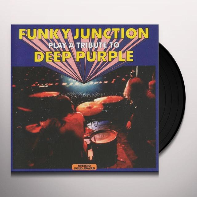 Funky Junction PLAY A TRIBUTE TO DEEP PURPLE Vinyl Record - 180 Gram Pressing, Reissue