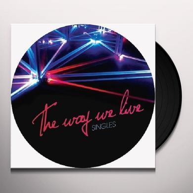 Deniz Kurtel WAY WE LIVE SINGLES (EP) Vinyl Record
