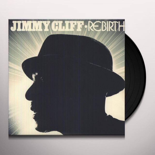 Jimmy Cliff REBIRTH Vinyl Record