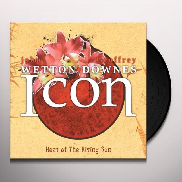 Icon HEAT OF THE RISING SUN Vinyl Record