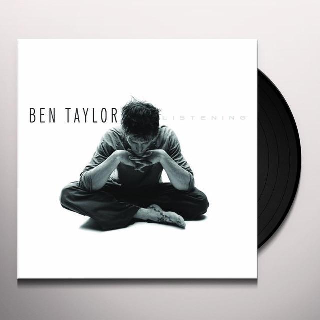 Ben Taylor LISTENING Vinyl Record