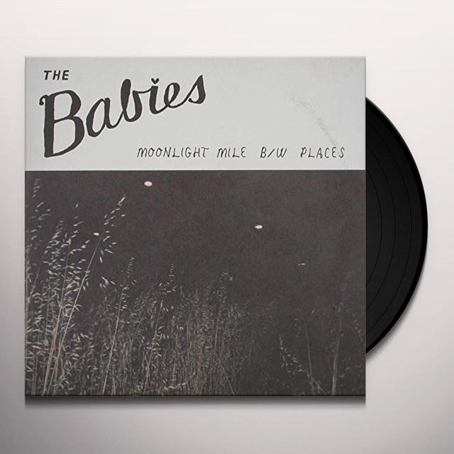 Babies MOONLIGHT MILE Vinyl Record - Limited Edition
