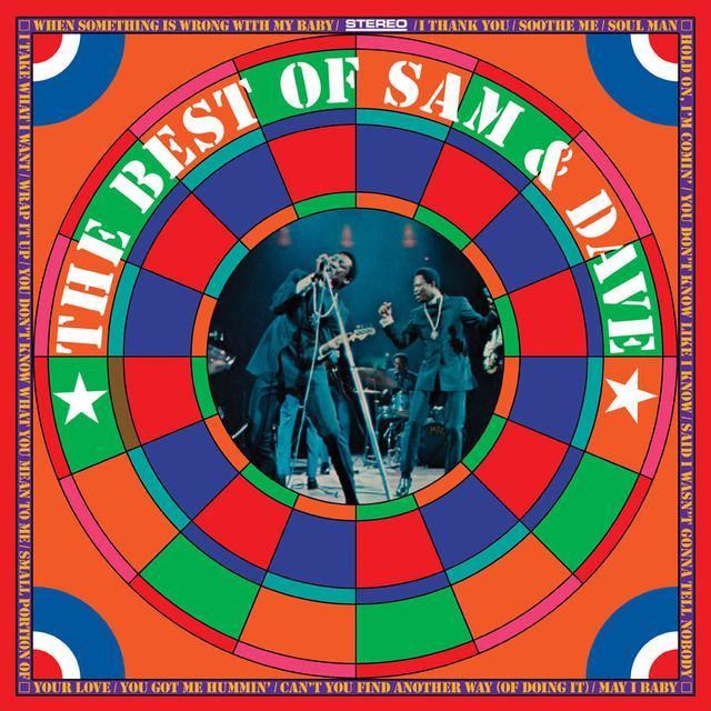 BEST OF SAM & DAVE Vinyl Record