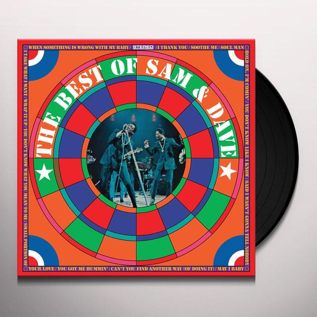 BEST OF SAM & DAVE Vinyl Record - Limited Edition, 180 Gram Pressing