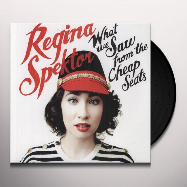 Regina Spektor WHAT WE SAW FROM THE CHEAP SEATS Vinyl Record