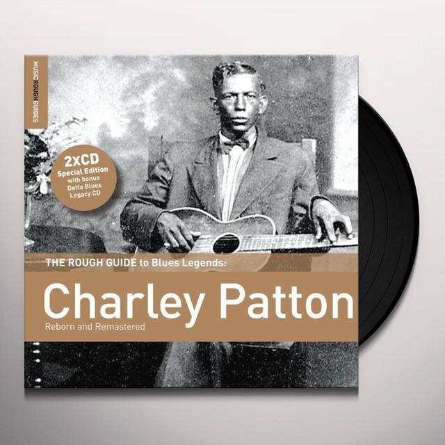ROUGH GUIDE TO CHARLEY PATTON Vinyl Record - 180 Gram Pressing, Digital Download Included