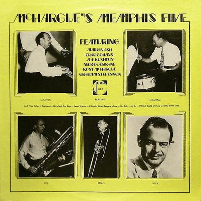 Rosy Mchargue MCHARGUE'S MEMPHIS FIVE Vinyl Record