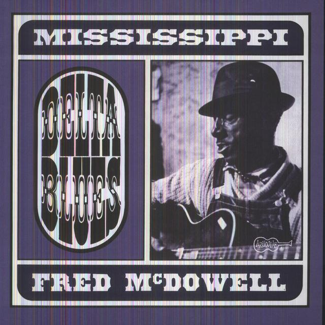 Mississippi Fred Mcdowell DELTA BLUES Vinyl Record - MP3 Download Included