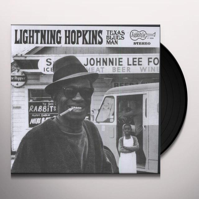 Lightnin' Hopkins on Spotify TEXAS BLUES MAN Vinyl Record
