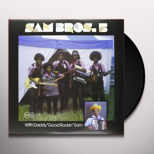 SAM BROTHERS 5 Vinyl Record - MP3 Download Included