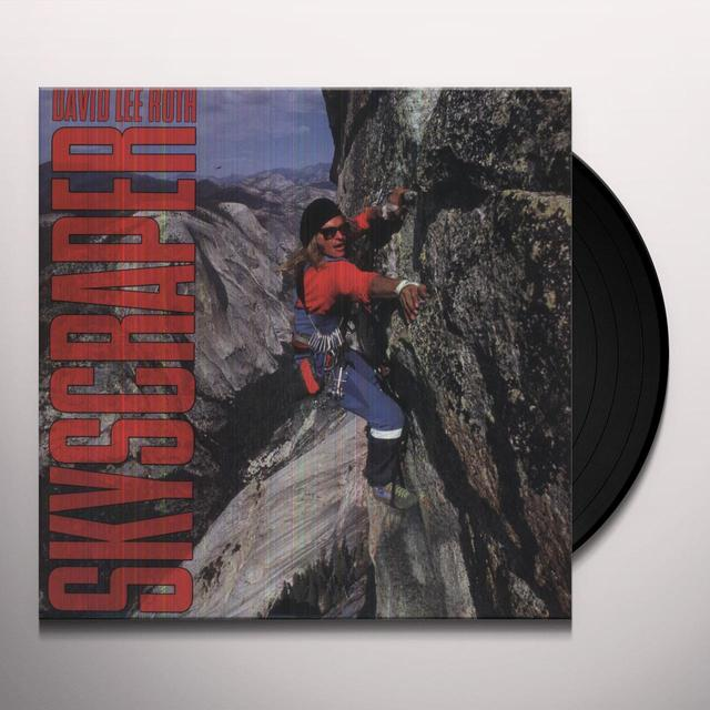 David Lee Roth SKYSCRAPER Vinyl Record