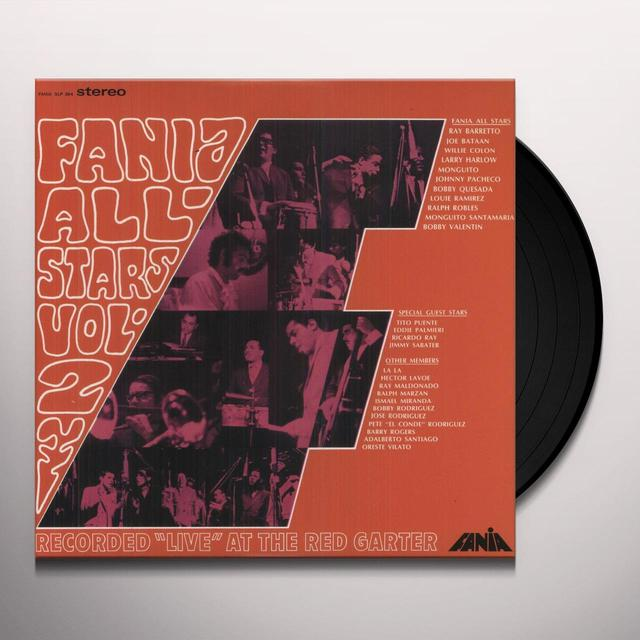 Fania All Stars LIVE AT THE RED GARTER 2 Vinyl Record