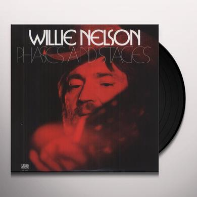 Willie Nelson PHASES & STAGES Vinyl Record