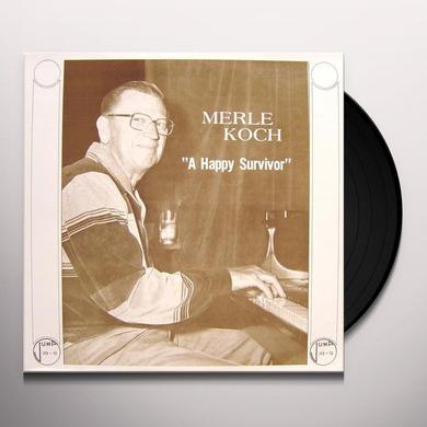 Merle Koch HAPPY SURVIVOR Vinyl Record