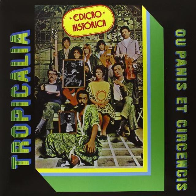 Tropicalia OU PANIS ET CIRCENCIS Vinyl Record - w/CD