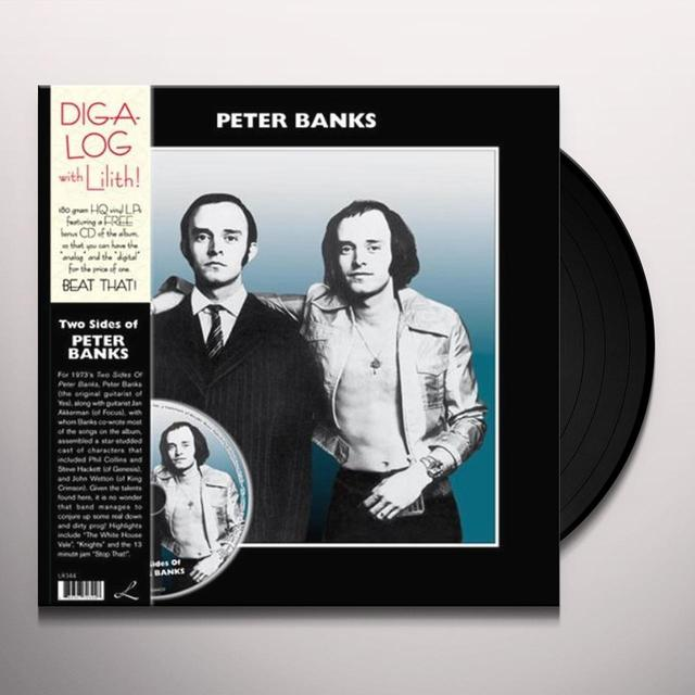 TWO SIDES OF PETER BANKS Vinyl Record - w/CD, 180 Gram Pressing