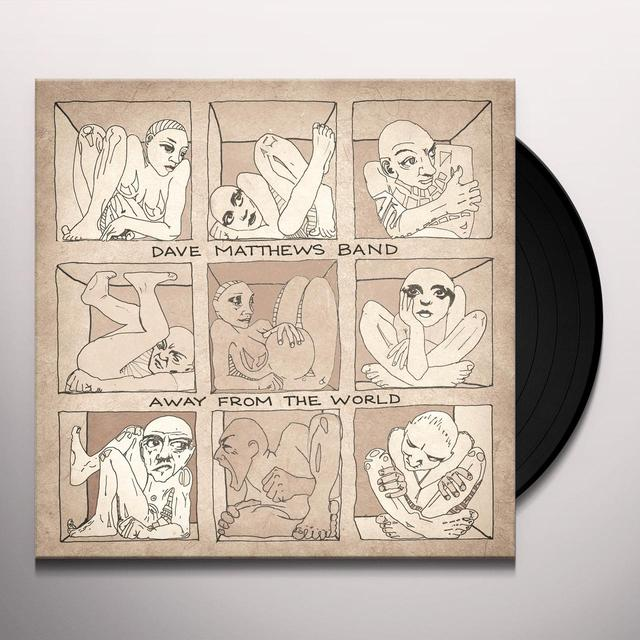 Dave Matthews AWAY FROM THE WORLD Vinyl Record - 180 Gram Pressing, MP3 Download Included