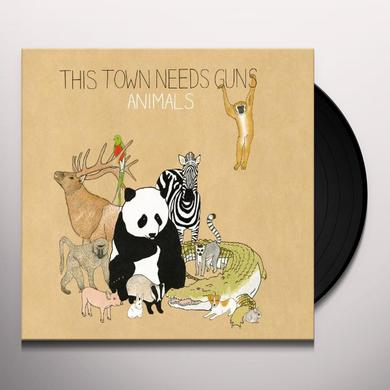 This Town Needs Guns ANIMALS Vinyl Record