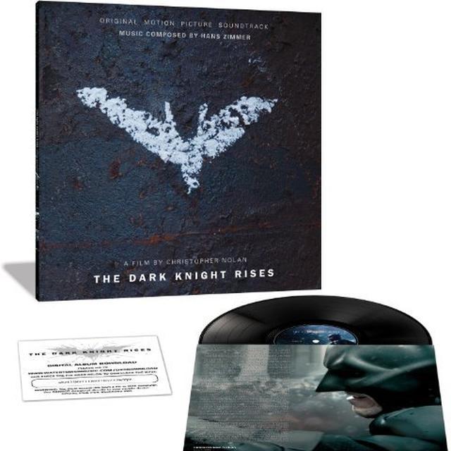 Hans Zimmer DARK KNIGHT RISES (SCORE) / O.S.T. Vinyl Record