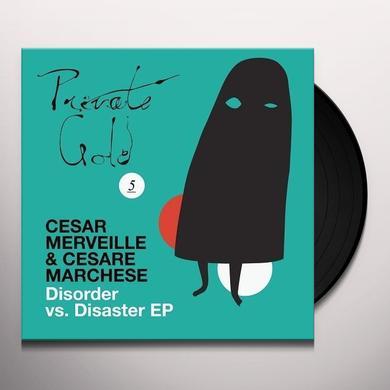 Cesar Merveille & Cesare Marchese DISORDER VS DISASTER (EP) Vinyl Record