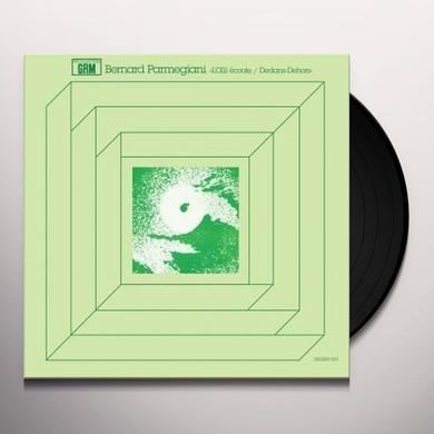 Bernard Parmegiani L'OEIL ECOUTE / DEDANS-DEHORS Vinyl Record